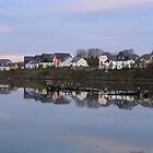 Hooe Lake by Chris Edwards