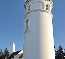 Umpqua River Lighthouse by Randall Scholten