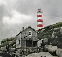Abandoned - The Sambro Island Lighthouse by Atlantic Dreams