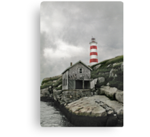 Abandoned - The Sambro Island Lighthouse Canvas Print