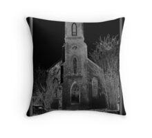 Old Gothic Church Throw Pillow