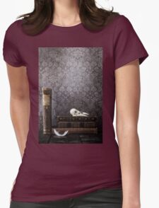 antique books Womens Fitted T-Shirt