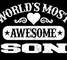 World Most Awesome Son by inkedcreatively