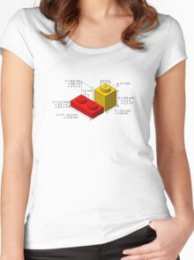 LEGO Dimensions Women's Fitted Scoop T-Shirt