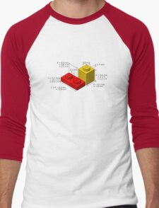 LEGO Dimensions Men's Baseball ¾ T-Shirt