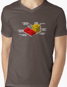 LEGO Dimensions Mens V-Neck T-Shirt