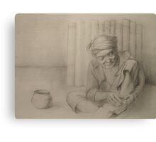 sketch book Canvas Print