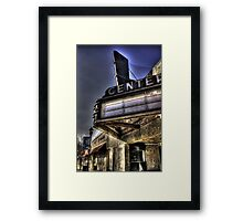 Old Theater Framed Print