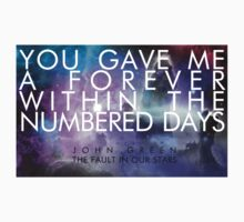 Forever Quote - The Fault in Our Stars T-Shirt