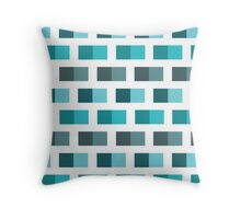 Brick Fever - Ocean Throw Pillow