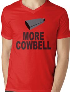 SNL More Cowbell Funny Geek Nerd Mens V-Neck T-Shirt