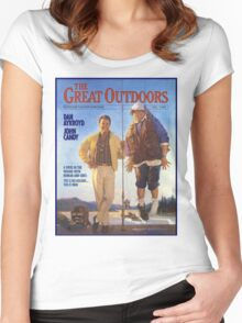 THE GREAT OUTDOORS (1988) Women's Fitted Scoop T-Shirt