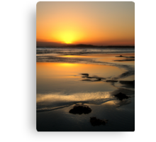 13th Beach Canvas Print