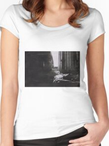 the sick rose Women's Fitted Scoop T-Shirt