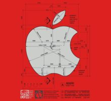 Apple Construction Dimensions Kids Tee