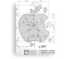 Apple Construction Dimensions Metal Print