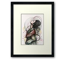 North | Beauty Illustration Framed Print