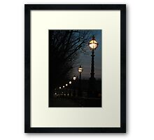 London Pearls Framed Print