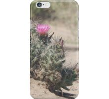 Big Bend Blooming Cacti iPhone Case/Skin