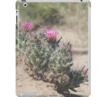 Big Bend Blooming Cacti iPad Case/Skin