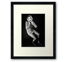Scream! Framed Print