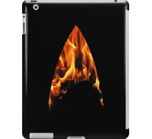 Space the final frontier Funny Geek Nerd iPad Case/Skin