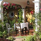 Breakfast in an Antigua B&B by Pat Yager