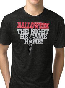 Michael Myers - Halloween Tri-blend T-Shirt