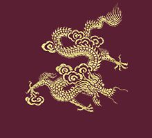 Gold Chinese Dragon Clothing Unisex T-Shirt