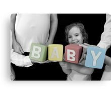 BABY's Comin'! Canvas Print