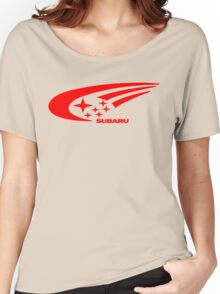Subaru Funny Geek Nerd Women's Relaxed Fit T-Shirt