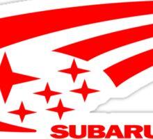 Subaru Funny Geek Nerd Sticker