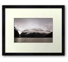 In the Hall of the Mountain King - Halo. Framed Print