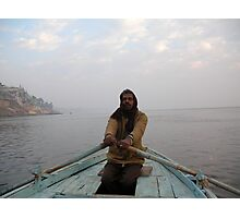 Boatman Photographic Print