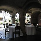 Dinner Under the Arches by Pat Yager