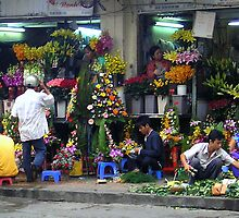 Local Flower Market by Jarede Schmetterer