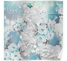 Love in Blue Poster