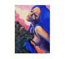 My polluted soul Art Print