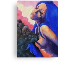 My polluted soul Canvas Print