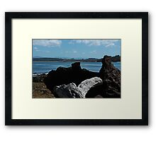 Thumbs up for Australia Framed Print