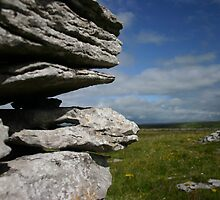Stone Wall in the Burren by Martina Fagan