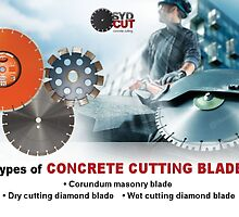 Types of Concrete Cutting Blades by SydCutcom