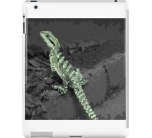 Iguana lizard iPad Case/Skin