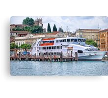 Moored~ Canvas Print
