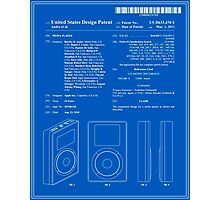 Apple IPod Patent Photographic Print