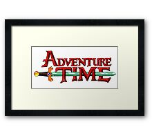 Adventure time Framed Print