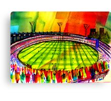 AFL Footy Melbourne MCG  Canvas Print
