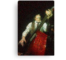 Jim from the Vaudevillians Canvas Print