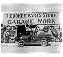 Cherokee Parts Store, 1936 Poster