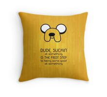 Adventure time Jake Throw Pillow